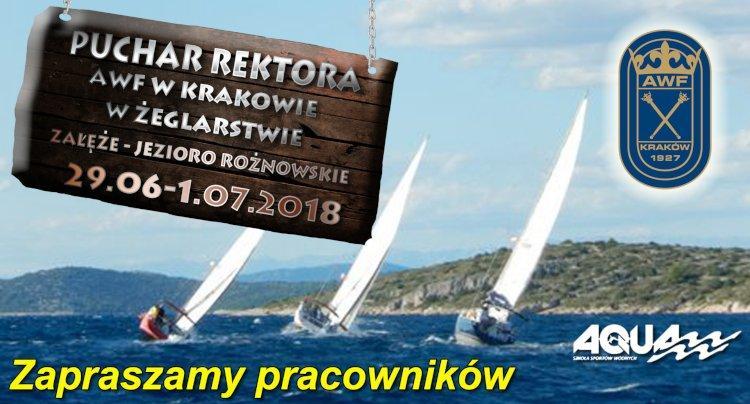 Regaty Żeglarskie o Puchar Rektora AWF w Krakowie