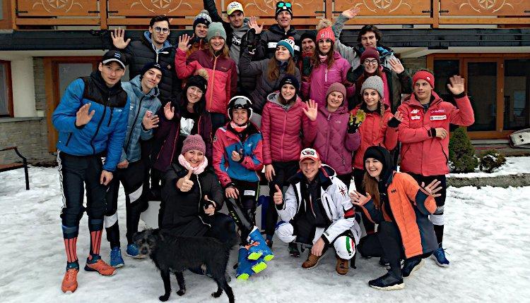 Akademickie Mistrzostwa Małopolski w narciarstwie - styczeń 2020