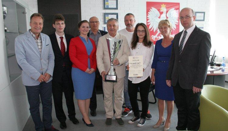 Puchar XVIII Festiwalu Nauki i Sztuki dla drużyny AWF w Krakowie!